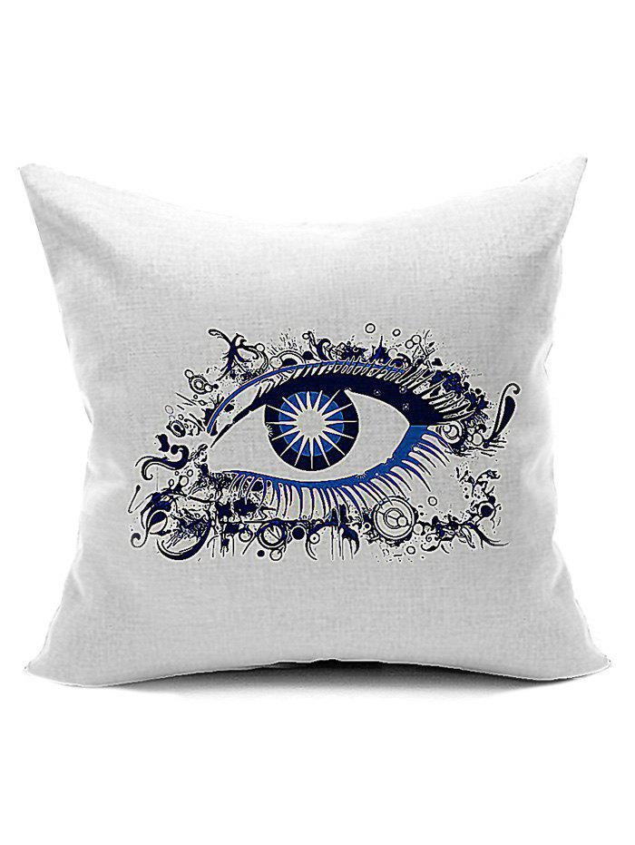 Artistic Eye Pillow Case For Home DecorationHome<br><br><br>Color: WHITE