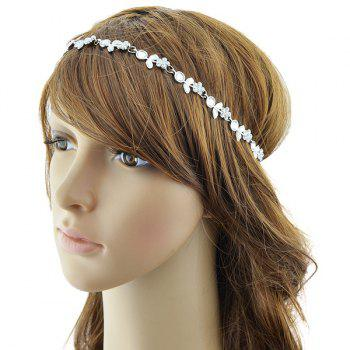 Rhinestone Floral Shape Hairband