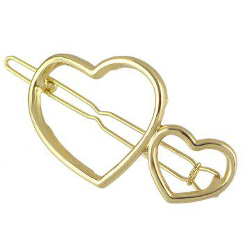 Heart Hollow Out Hairpin