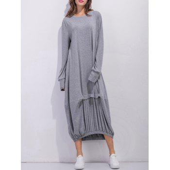 Oversized Long Sleeve Maxi Dress