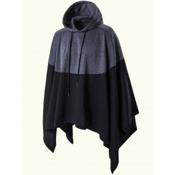 Plus Size Asymmetric Pullover Hoodie