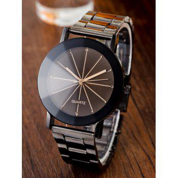 Rhinestone Conical Surface Quartz Watch