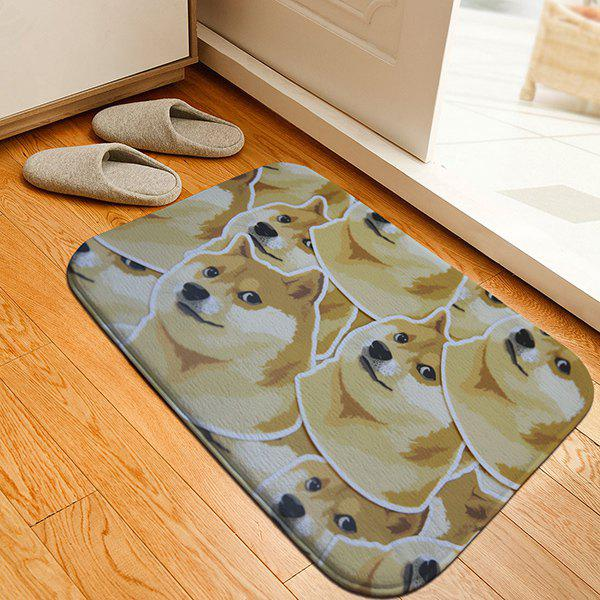 Fulled Doge Heads Print Caroset Skidproof Thicken Rug sunrise print home decor caroset skidproof rug
