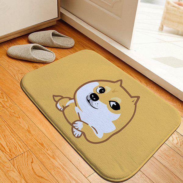 Cartoon Doge Print Caroset Skidproof Thicken Rug axe шампунь black мужской 250 мл