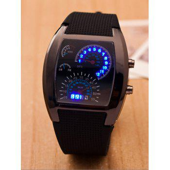 Sport Silicone Strap Watch