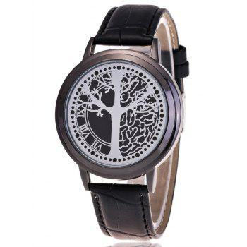 Waterproof Tree of Life LED Watch