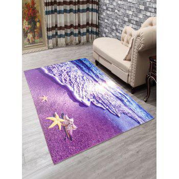 Anti-Slip Beach Doormat Carpet - PURPLE PURPLE