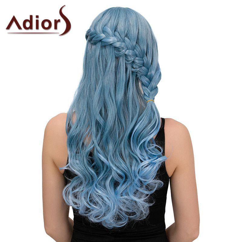 Adiors Long Half Braid Side Bang Wavy Synthetic Wig цена 2016