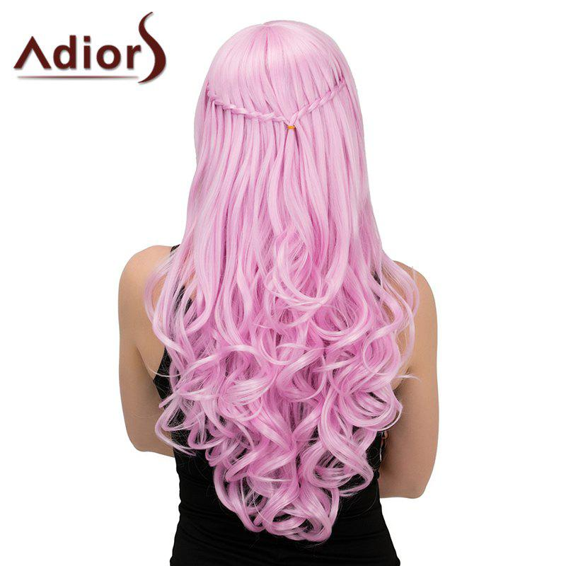 Adiors Long Half Braid Side Parting Wavy Synthetic Wig цена 2016