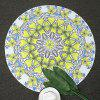 Boho Floral Print Round Beach Throw - WHITE ONE SIZE
