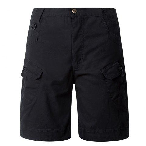 PAVE Shorts HAWK Zipper Fly multi Pocket Tactical - Noir S