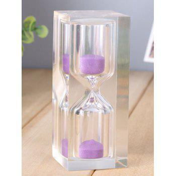 15 Minutes Crystal Sand Clock Decoration