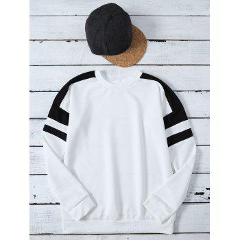 Color Block Sports Sweatshirt