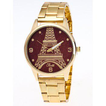 Eiffel Tower Glitter Quartz Watch