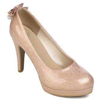 Buy Bow Patent Leather Pumps PINK