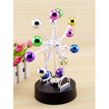 Ferris Wheel Newton Pendulum Boule Creative Décoration - coloré