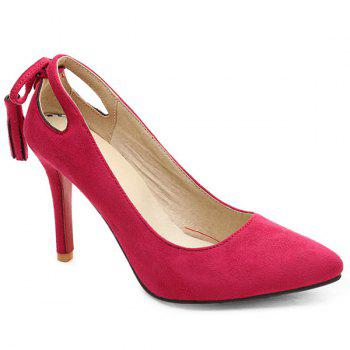 Tassels Hollow Out Pumps