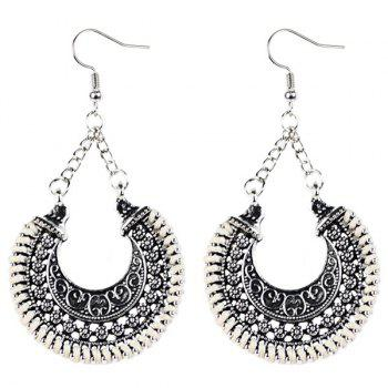 Moon Vintage Drop Earrings