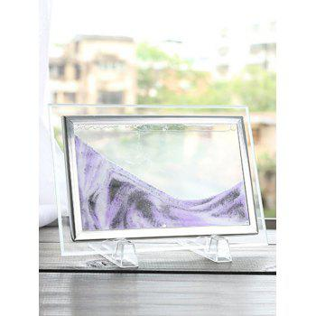 3D Hourglass Decorative Craft Sand Painting Frame Picture