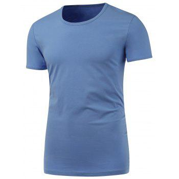 Slim Fit Short Sleeve Round Neck Tee
