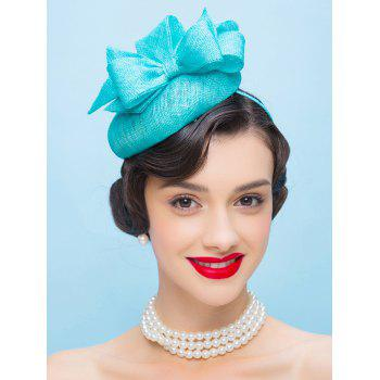 Bowknot Pillbox Hairband Hat