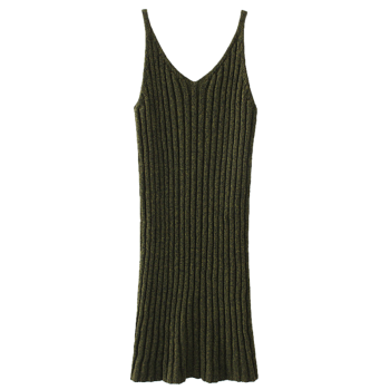 Knitted Vest Pinafore Dress
