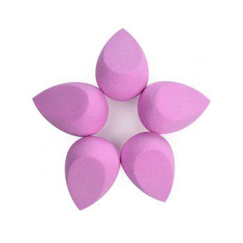 Cut Teardrop Water Swellable Makeup Sponge - PINK