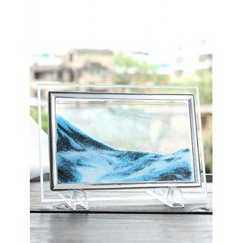 2018 3D Hourglass Decorative Craft Sand Painting Frame Picture ...