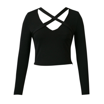 Criss Cross Cropped Tee