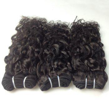 3 Piece/Lot 8A Virgin Indian Natural Wave Hair Weave - BLACK 20INCH*20INCH*22INCH