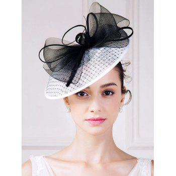 1940s Fascinator Hat with Big Bowknot