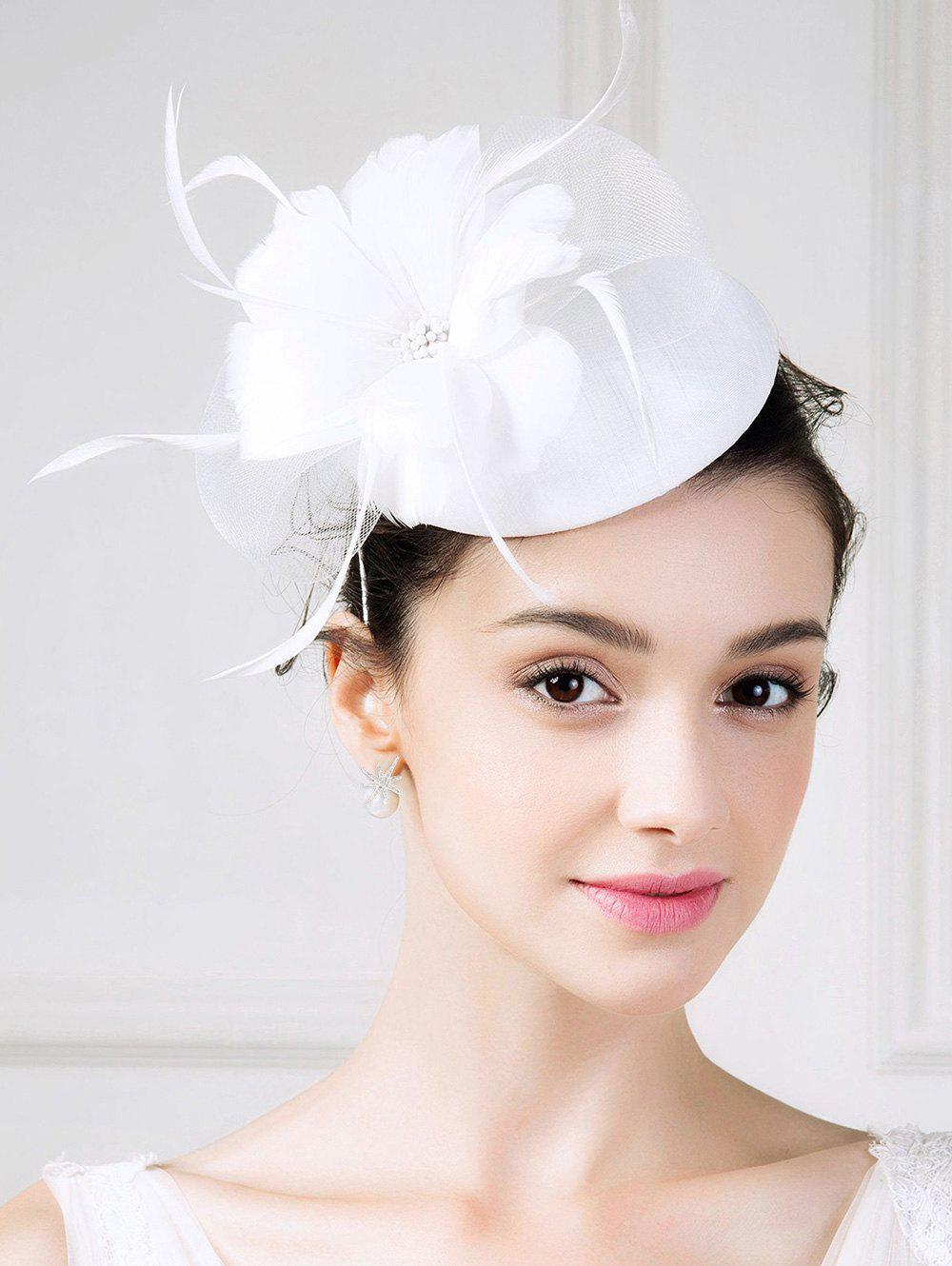 Fascinator Flower Embellished Pillbox Hat jxd rc mini drone with camera hd wifi live camera helicopter radio control tiny quadcopter headless mode remote contol toy