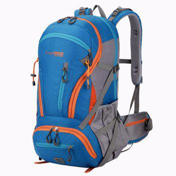 45L Multi Zips Nylon Mountaineering Backpack