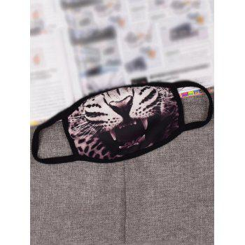 Leopard Printed Gas Pollution Anti Dust and Haze Mouth Mask