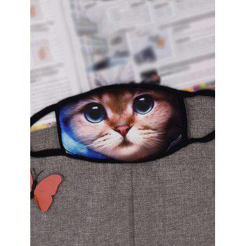Kitty Printed Gas Pollution Anti Dust and Haze Mouth Mask