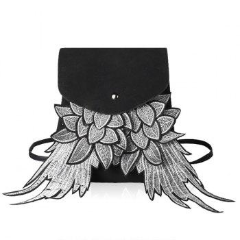 Winged Suede Backpackack