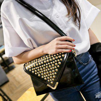 Envelope Rivet Cross Body Bag