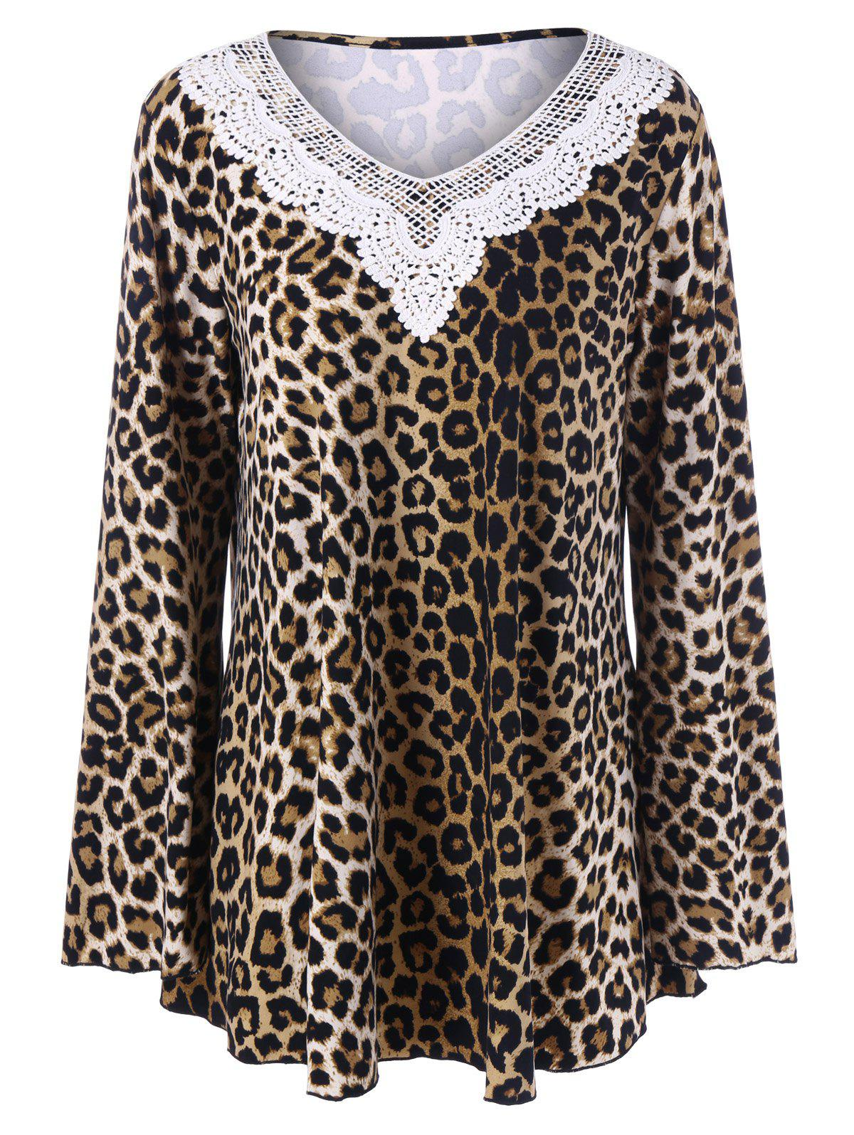 Plus Size Leopard T-Shirt