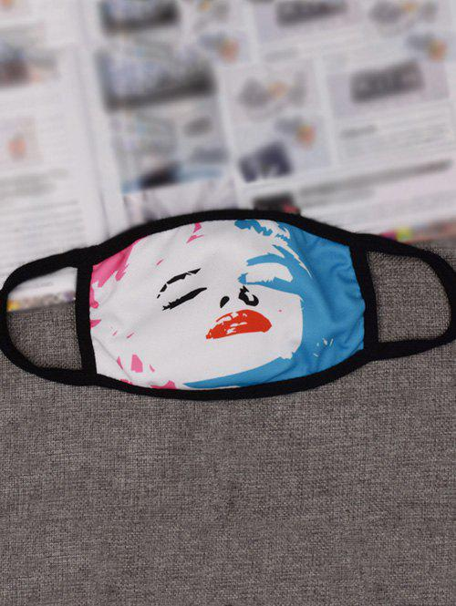 Marilyn Monroe Printed Gas Pollution Anti Dust and Haze Mouth MaskHome<br><br><br>Color: BLUE AND RED