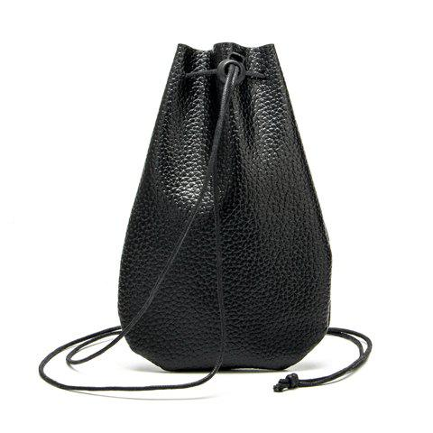 Drawstring Bucket Wallet
