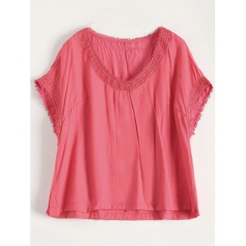 Plus Size V Neck Tee