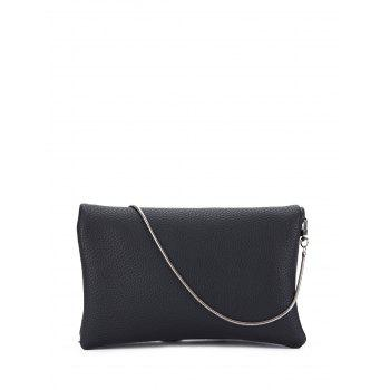 PU Leather Snake Chain Crossbody Bag