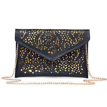 Hollow Out Chain Crossbody Bag