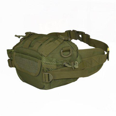 1000D Outdoor Multifunctional Waterproof Tactical Waist Bag - ARMY GREEN