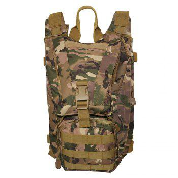 1000D Waterproof Multifunctional Outdoor Tactical Backpack - CP CAMOUFLAGE