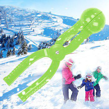PE Snowball Clip 7cm Diameter Spoon - GREEN GREEN