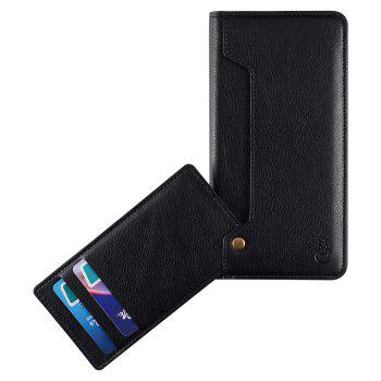 Flip Faux Leather Wallet with Card Slot Case For iPhone - FOR IPHONE 7 FOR IPHONE 7