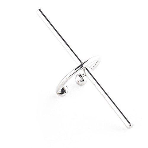One Piece Crisscross Geometric Ear Cuff