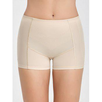 Seamless Padded Boyshorts Panties - COMPLEXION L
