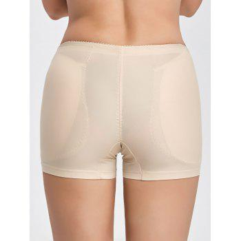 Seamless Padded Boyshorts Panties - L L